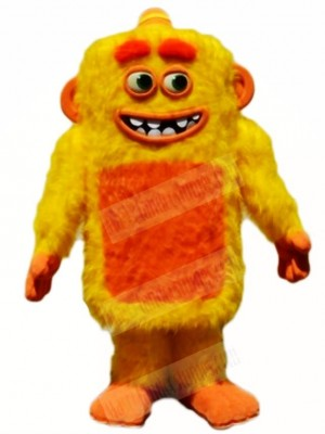 Yellow Max Monster Mascot Costumes People