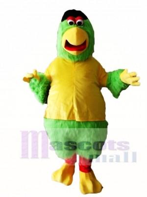 Green Parrot Mascot Costumes Bird Animal
