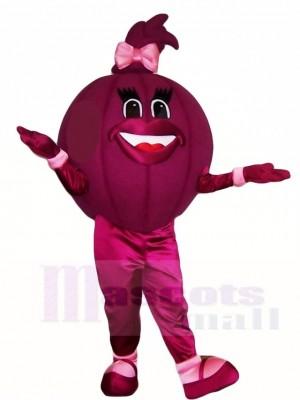 Purple Onion Mascot Costumes Vegetables