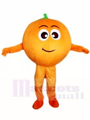 Orange Mascot Costumes Fruit Plant