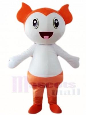 Orange Baby Mascot Costumes People