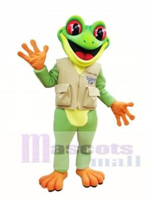 Tree Frog Mascot Costume Green Frog Mascot Costumes Animal