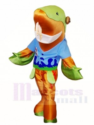 Fish and Fins Sammy the Sturgeon Mascot Costumes Sea