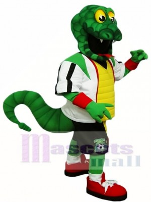 Green Snake Rattlers Mascot Costumes Reptiles