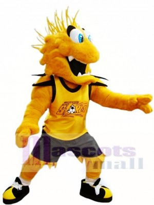 Yellow Storm Mascot Costumes