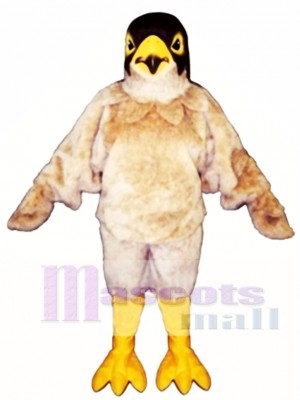 Cute Tan Eagle Mascot Costume Animal