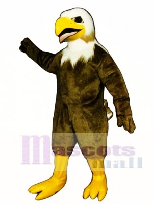 Cute Screaming Eagle Mascot Costume Animal