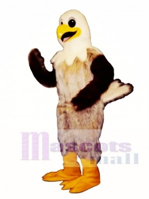 Cute Happy Hawk Mascot Costume Animal