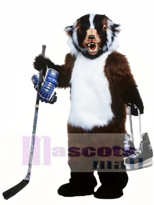 Badger Mascot Costume Animal