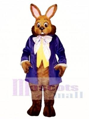Easter Mr. Brown Bunny Mascot Costume Animal