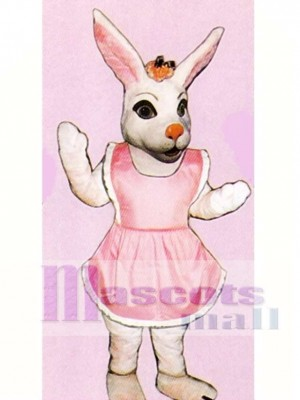 Easter Miss Bunny Mascot Costume Animal