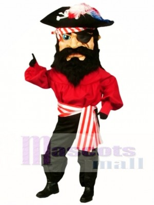 Pirate Mascot Costume People