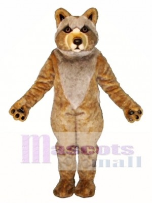 Cute Mexican Grey Wolf Mascot Costume Animal