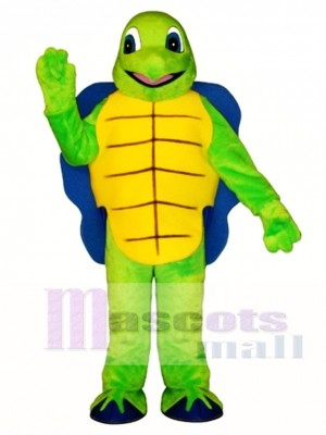 Blue Shell Turtle Mascot Costume