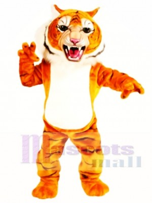 Cute Super Tiger Mascot Costume Animal