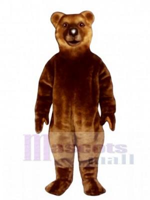 Realistic Bear Mascot Costume Animal