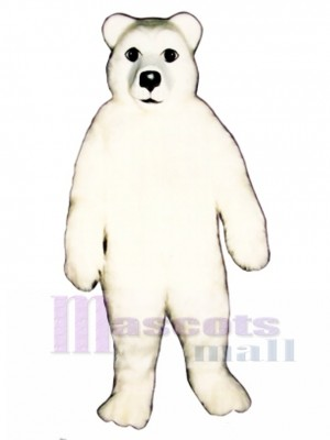 Polar Bear Mascot Costume Animal