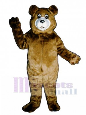 New Tommy Teddy Bear Mascot Costume Animal