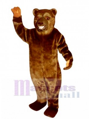 New Snarling Bear Mascot Costume Animal