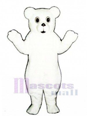 Snow Bear Cub Mascot Costume Animal