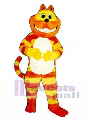 Cute Cheshire Cat Mascot Costume Animal