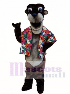 Otto Otter Mascot Costume Animal