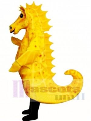 Cute Sammy Seahorse Mascot Costume Animal