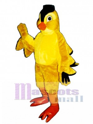 Cute Finch Mascot Costume Bird