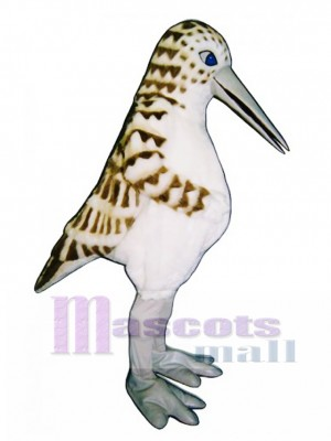 Cute Sandpiper Mascot Costume Bird