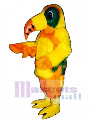 Cute Toucan Mascot Costume Bird