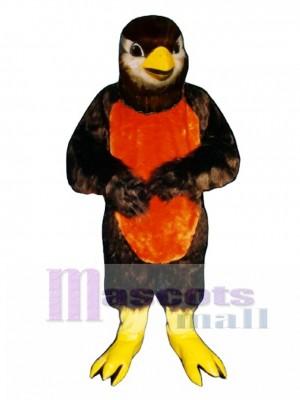 Cute Redd Robin Mockingbird Mascot Costume Bird