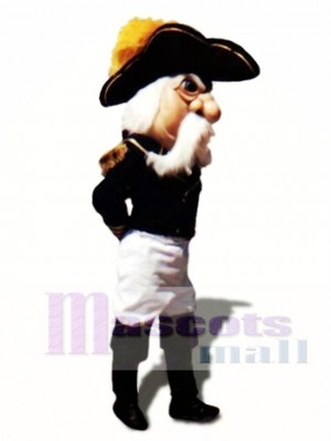 Admiral Mascot Costume People