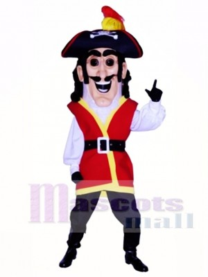 Captain Plunder Mascot Costume People