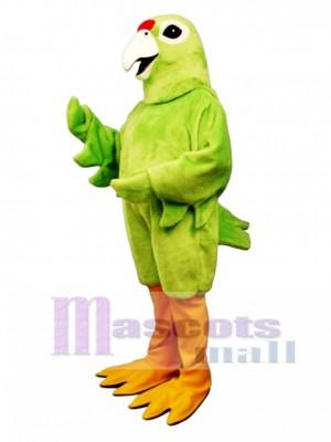 Cute Puerto Rican Parrot Mascot Costume Bird