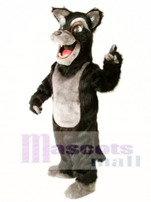 Cute Big Bad Wolf Mascot Costume Animal