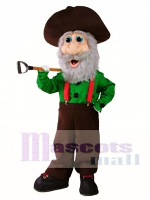 Miner Mascot Costume People