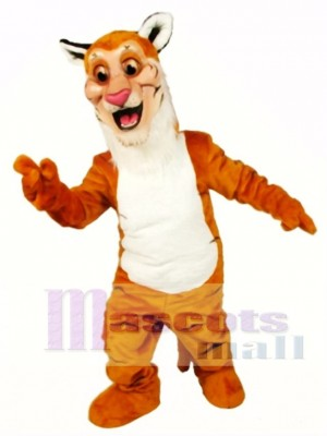 Cute Tiger Mascot Costume Animal