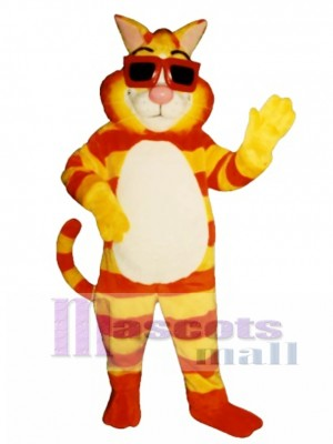 Cute Kool Cat Mascot Costume Animal