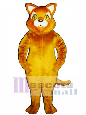 Cute Cinnamon Cat Mascot Costume Animal