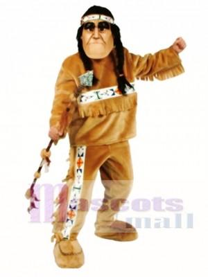 Native American Mascot Costume People