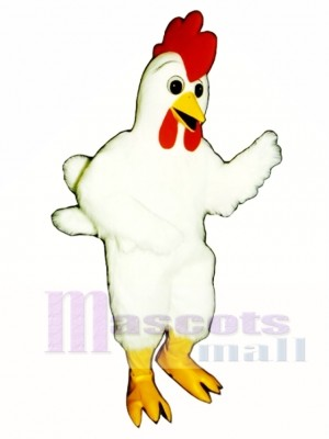 Cute Funky Chicken Mascot Costume Poultry