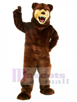 New Grizzly Bear Mascot Costume Animal