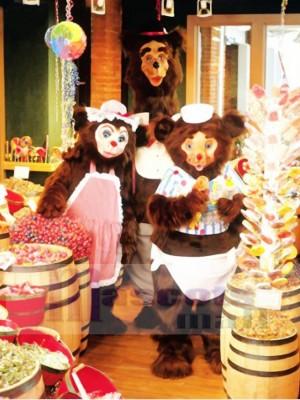 Mama Bear Mascot Costume Animal