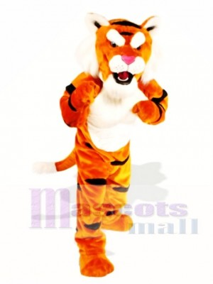 Cute Power Tiger Mascot Costume Animal