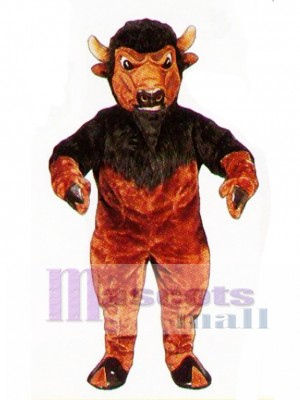 Cute Bison Mascot Costume Animal