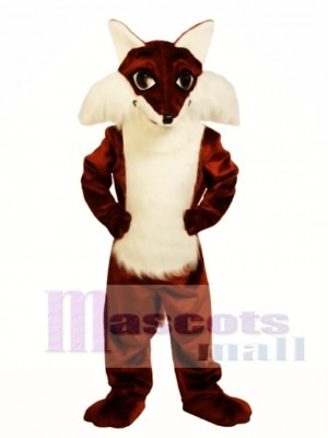 Cute Fox Mascot Costume