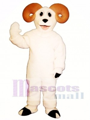 Cute Ram Mascot Costume Animal