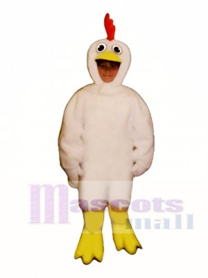 Cute Chicken Mascot Costume Poultry