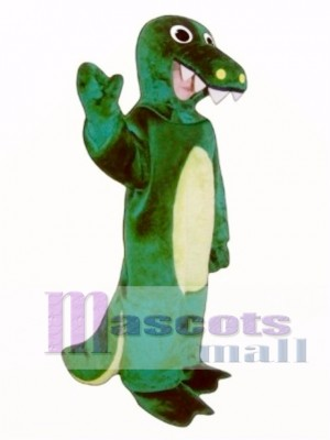 Cute Alligator Mascot Costume Animal