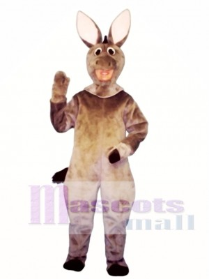 Cute Donkey Mascot Costume Animal